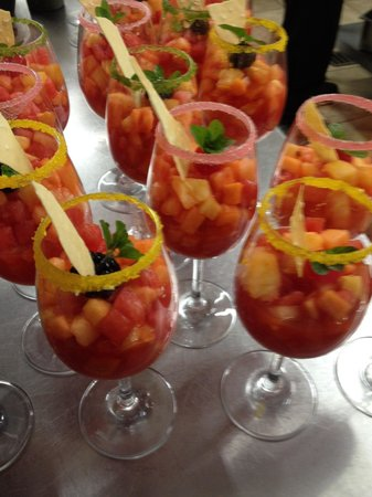 Coktel de frutas picture of gracia cocina de autor for Cocina de autor