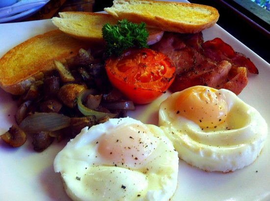 The Porch Cafe : Flashback big breakfast
