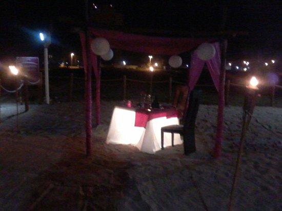 Park Royal Mazatlan: Cena Romantica.