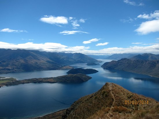 Wanaka Helicopters : View from Coromandel Peak Mount Roy