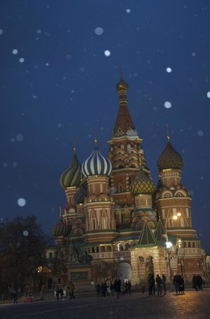Moscow Private Tours : St Basils Cathedral