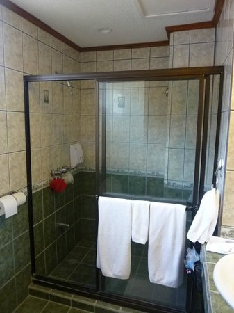 BEST WESTERN Kamuk Hotel & Casino: Clean but small bathroom.