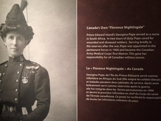 Canadian War Museum: The story of PEI's Georgina Pope