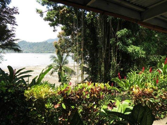 La Parcela: Uitzicht naar de noordkant