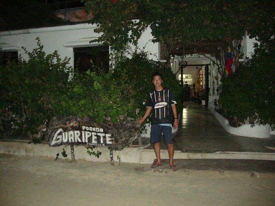 Hall de entrada da Posada Guaripete