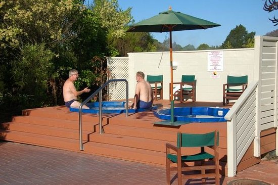 Holiday Inn Rotorua : 按摩浴缸