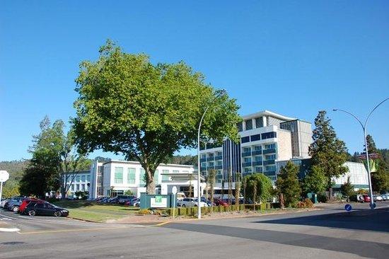 Holiday Inn Rotorua: 酒店前景
