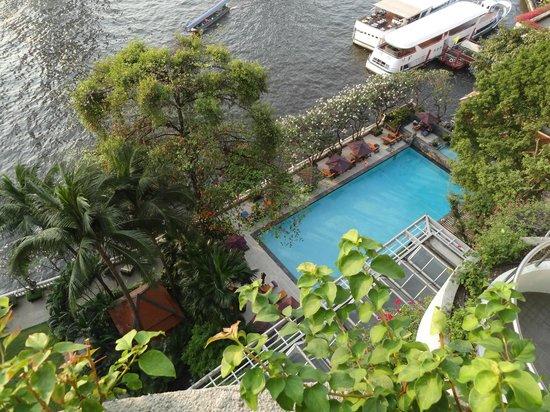 Shangri-La Hotel,Bangkok: View from balcony