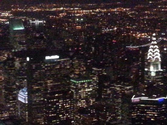 Chrysler Building : Vista Nocturna Edificio