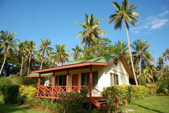 Maravu Taveuni Lodge : 房间外面