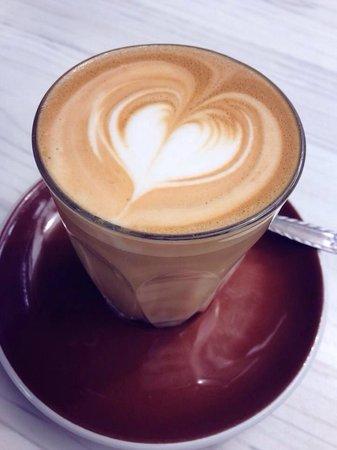 Cafe Derailleur latte :)