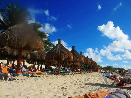 Occidental Cozumel: Beach huts