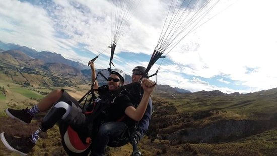 SkyTrek Tandem Hang Gliding & Paragliding: We don't discriminate. Almost anyone can fly with us,  regardless of age or limitations. Sean fr