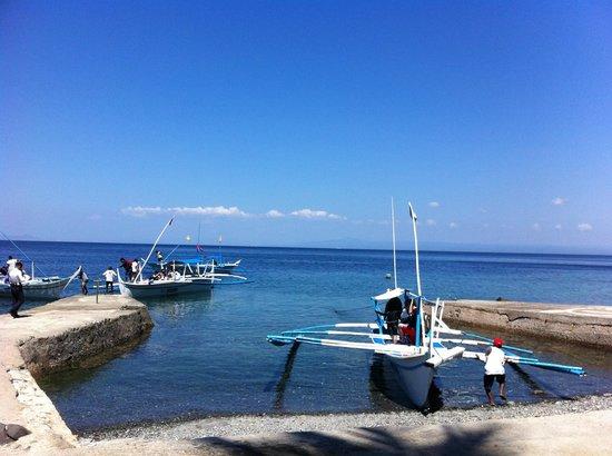 Eagle Point Resort: Dock