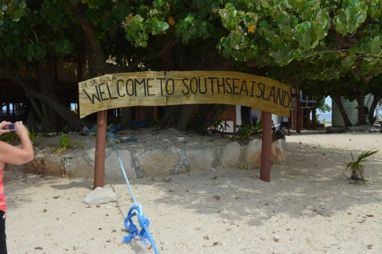 South Sea Island Accommodation: South Sea Island