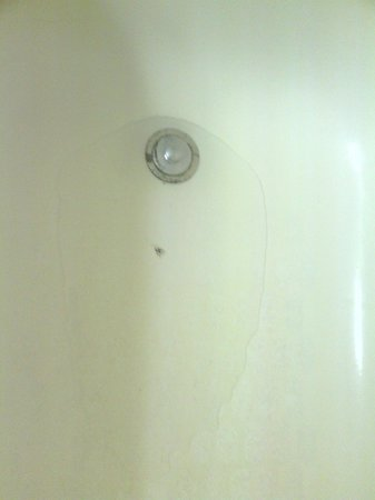 Magnuson Grand Hotel Maingate West: Standing Water in Tub on Arrival
