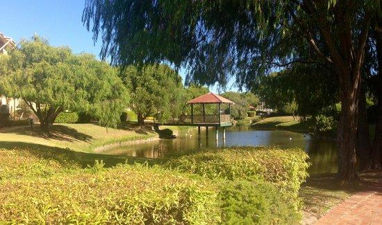 Abbey Beach Resort: Pond