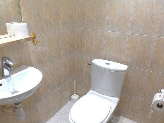 Hotel de la Cote d'Or: Les WC séparés