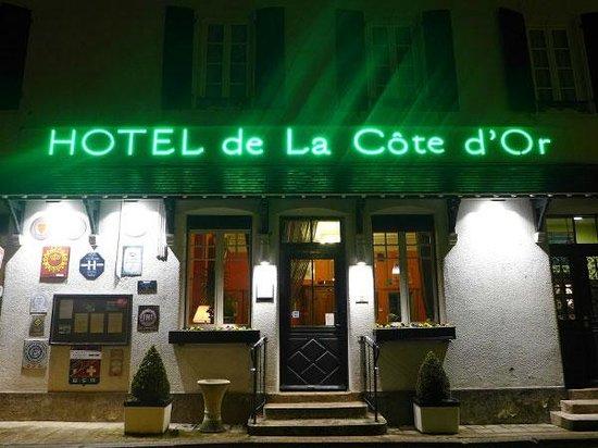 Hotel de la Cote d'Or: La façade
