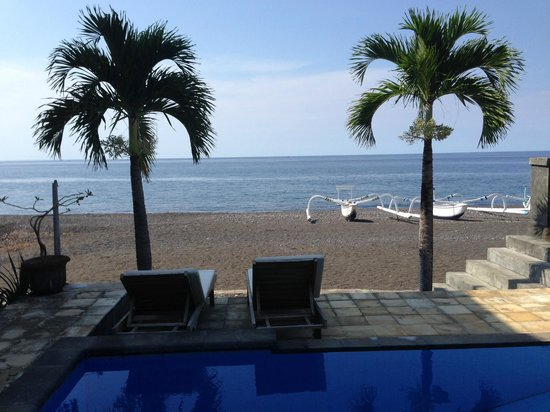 Lucky Paradise Bungalows: view from room
