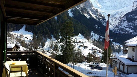 Hotel Gletschergarten : Wonderful Balcony