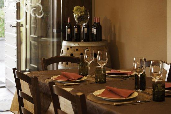 Tenuta Tovaglieri: la sala ristorante