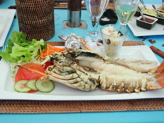 20 Degres Sud Hotel: repas au Governor's house sur l'ile plate