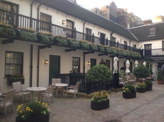 The Stafford London: courtyard rooms