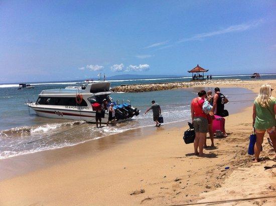 Sanur Beach : From sanur to lembongan island!!!