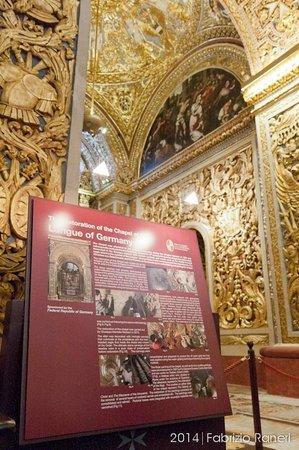 Concatedral de San Juan: La cappella dedicata all'Italia