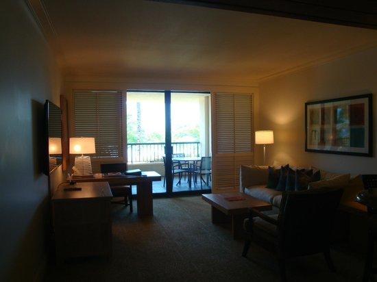 Hapuna Beach Prince Hotel: View of Room