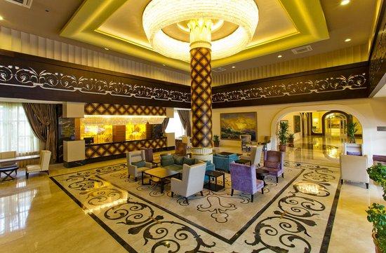 Melas Resort Hotel: Lobby - Reception area