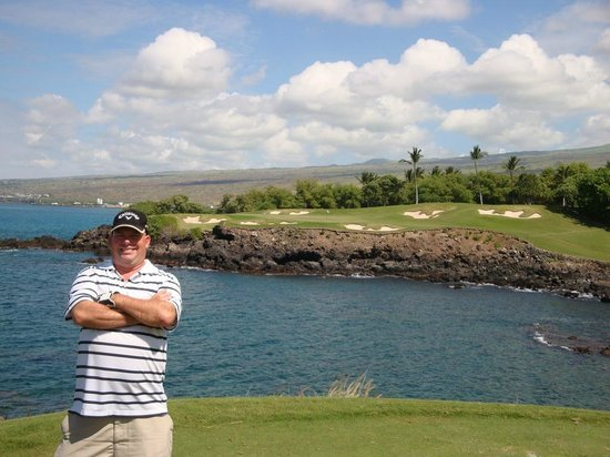 The Westin Hapuna Beach Resort Mauna Kea Golf Hole 3