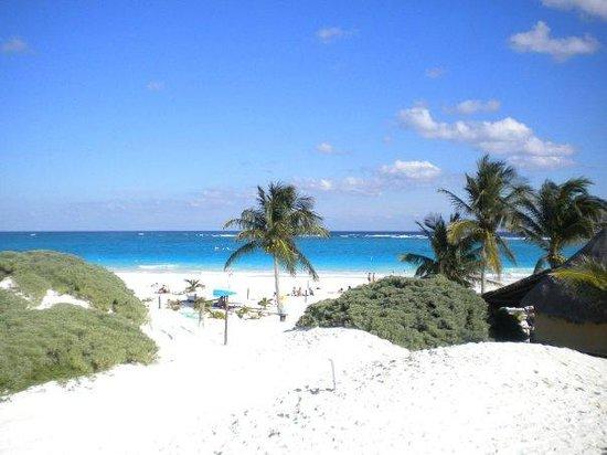 Cabanas Zazilkin: dunes