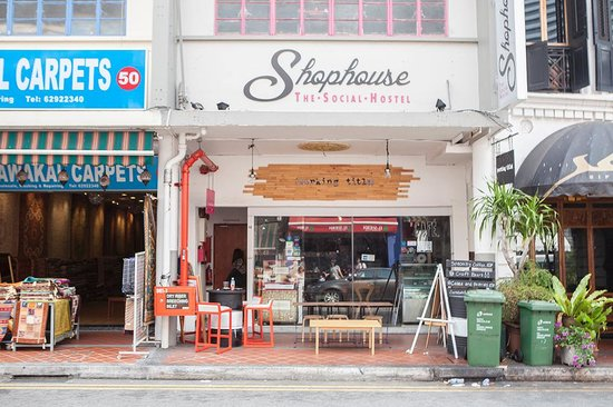 Photo of American Restaurant Working Title at 48 Arab Street Shophouse The Social Hostel, Singapore 199745, Singapore