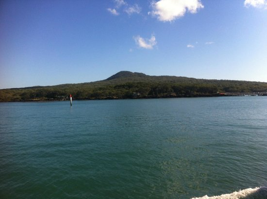 Rangitoto Island from the Ferry