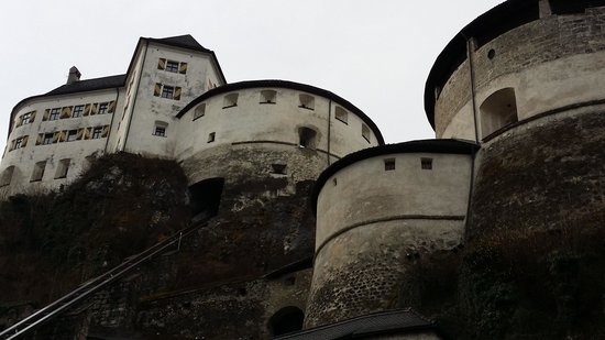 Kufstein Fortress : fortress with funicular