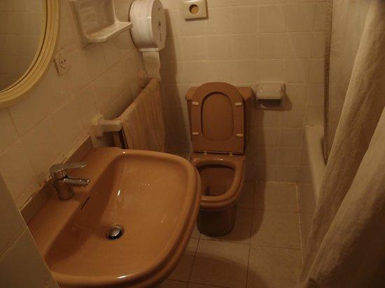 Pension La Rosa: トイレ