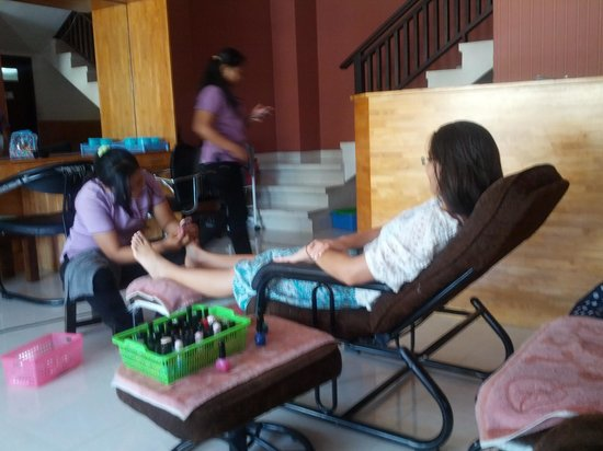 Claudia Spa: pedicure
