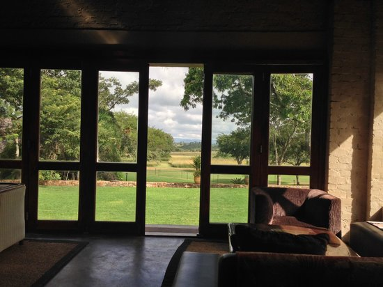 Wild Geese Lodge: View from the breakfast table