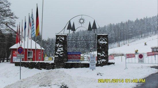 Feriendorf Am Hohen Bogen: Ski centrum hohen bogen