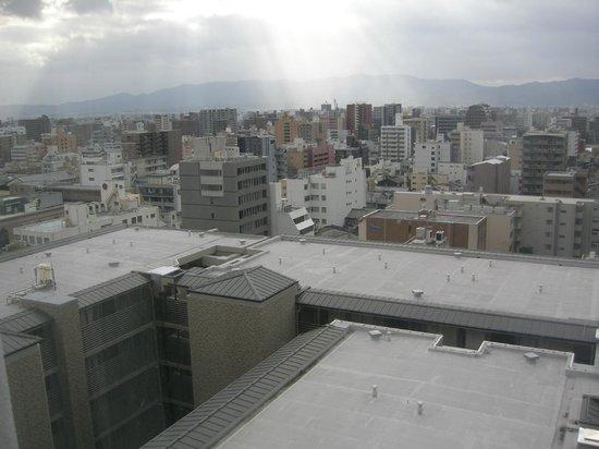 Karasuma Kyoto Hotel: View from the room