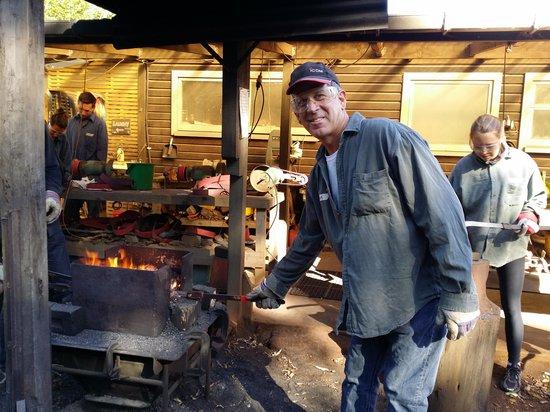 Barrytown Knifemaking: Firing the steel