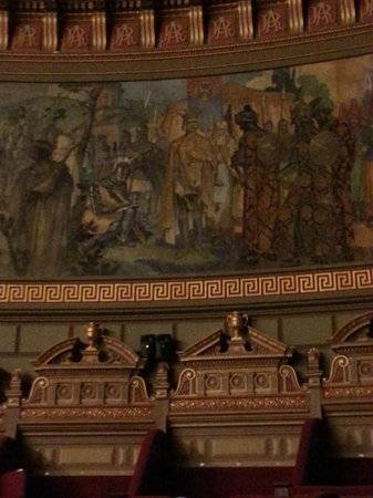 Romanian Athenaeum (Ateneul Roman): Grand Room : decoration of the dome