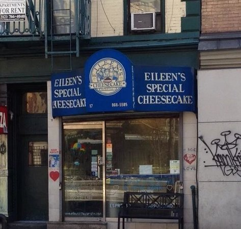 Eileen's Special Cheesecake: The shop