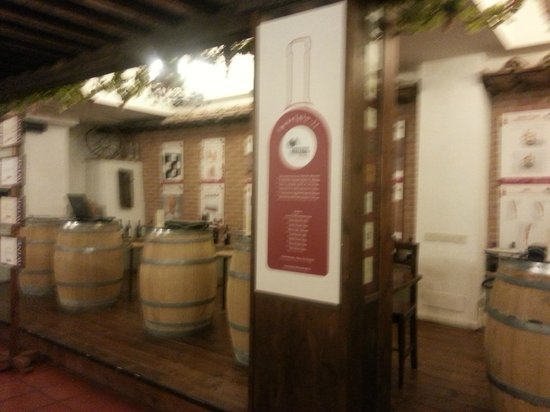 Hotel Gio' Wine e Jazz Area: corridoio wine