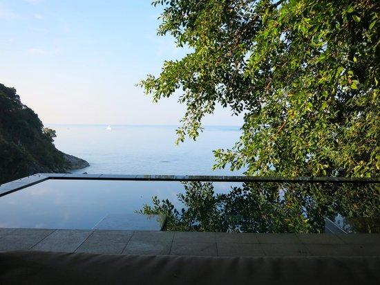 Paresa Resort Phuket : Private infinity pool