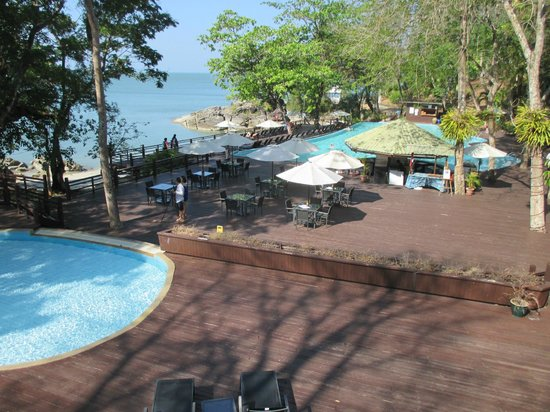 Century Langkawi Beach Resort: View to the pool area