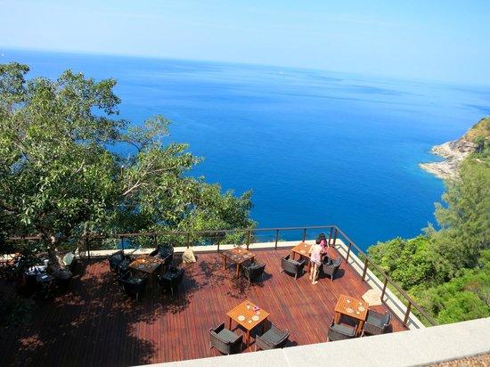 Paresa Resort Phuket : Diabolo from above