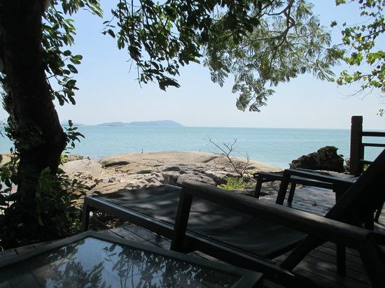 Century Langkawi Beach Resort: view from wooden pathway of hotel